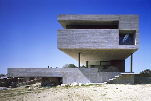 Projekt: Casa Carnicero, Los Peñascales Architekt: Iñaqui Carnicero