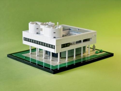 La Villa Savoye Lego