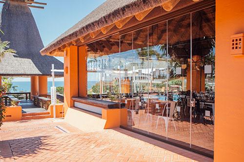 Proyecto en el Hotel Barceló Santi Petri en Chiclana (Cádiz).