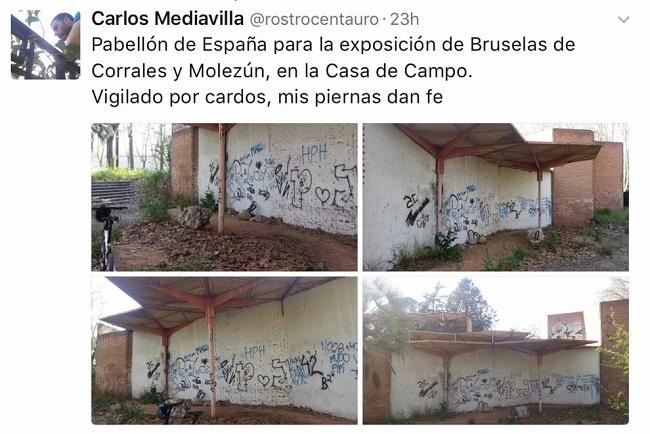 3. stepienybarno - sirve un arquitecto - sociedad - El Pabellón de España
