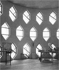 8. KONSTANTIN MELNIKOV AND HIS HOUSE -Fritz Barth -STEPIENYBARNO