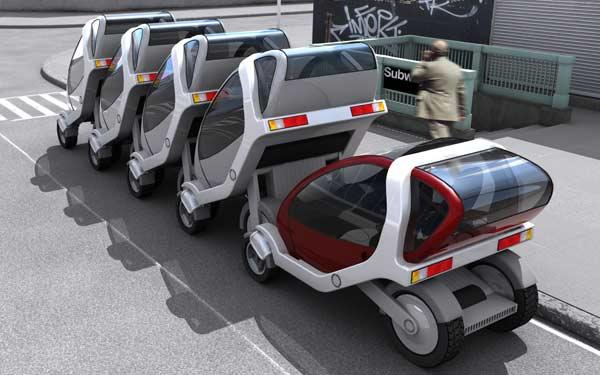 6 Prototipo de coche eléctrico desarrollado por el Grupo inteligente del MIT. stepienybarno