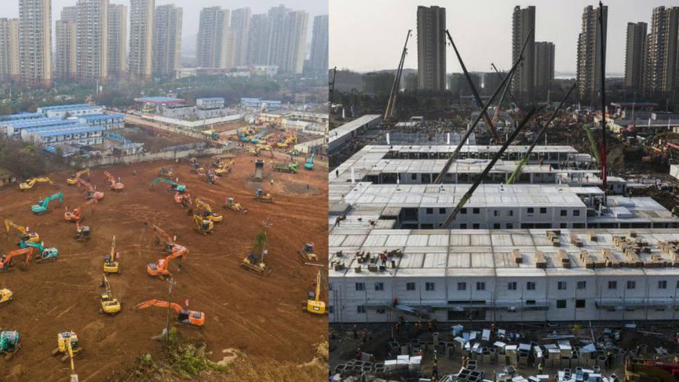 Cómo China ha logrado levantar el hospital del coronavirus de Wuhan en 10 días (y por qué en España somos tan lentos) - Blog de STEPIEN Y BARNO - publicación digital sobre arquitectura