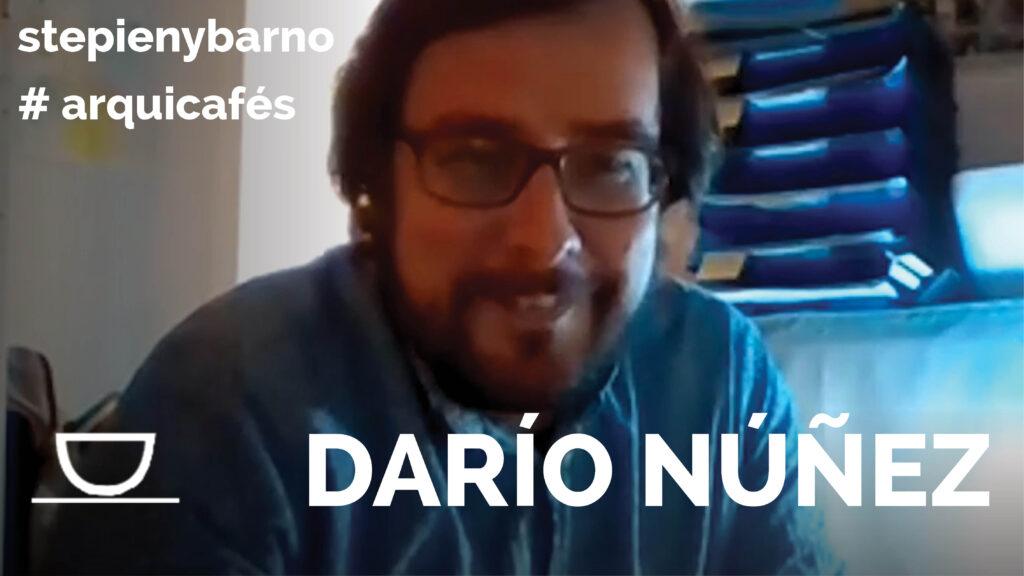 Arquicafé con Darío Núñez