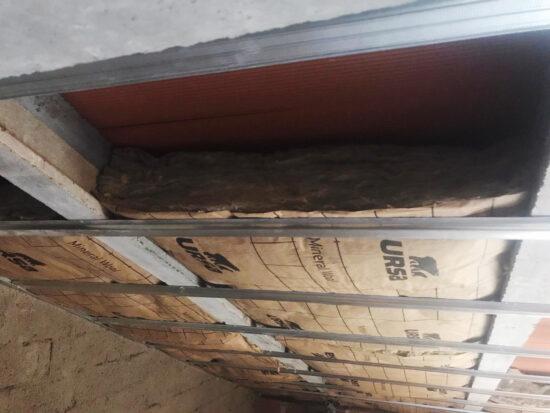 aislamiento en falso techo y medio ambiente