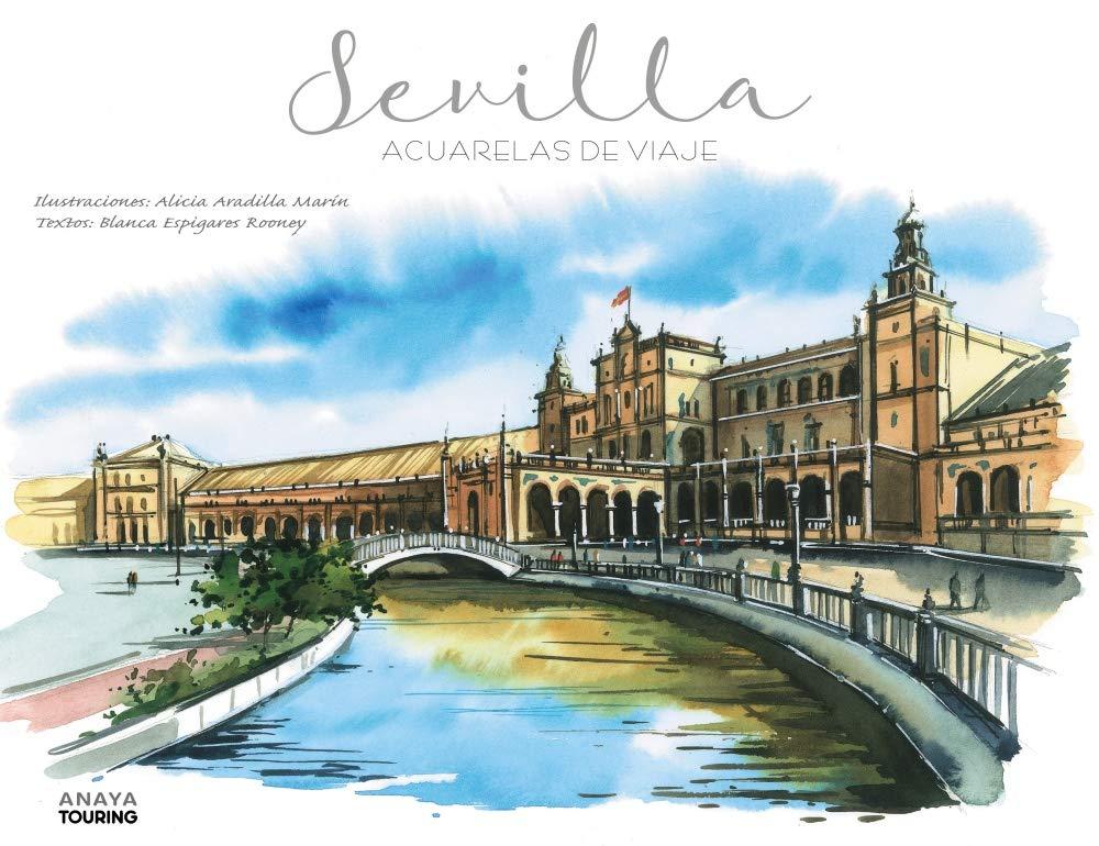 Sevilla acuarelas de vieje blanca espigares