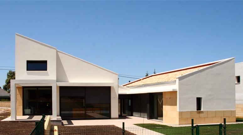 Dos viviendas unifamiliares en Irache (Navarra). por Stepienybarno